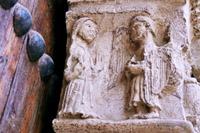 porte de St Jacques:annonce à Marie