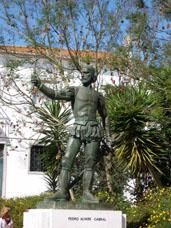 STATUE DE PEDRO ALVARE CABRAL