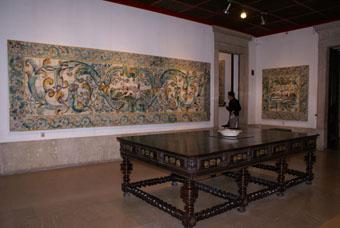 MUSEE DO AZULEJO SCENE DE CHASSE
