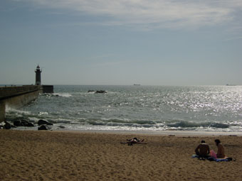 La plage de Porto