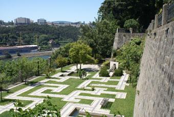 Jardin suspendu au dessus du Douro