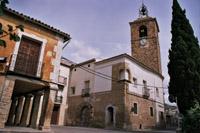 La tour dr l'horloge Almonacid de Zorita