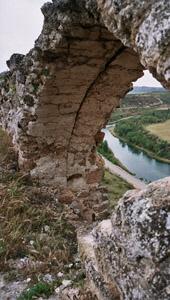 vue du château de Zorita