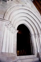 Portique de l'église