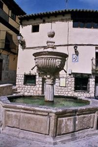 Pastrana: fontaine des quatre chiens