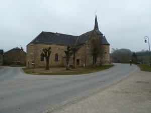 Eglise fortifiée de laval Morency