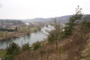 Vue sur la Meuse