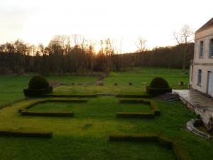 Les jardins au couchant