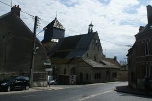 Eglise Saint Pierre Saint Paul à Baye XIIème siècle
