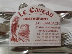 Une bonne adresse pour le repas du soir