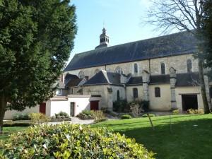L'église de l'abbatiale