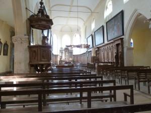 Intérieur de l'église de l'abbatiale