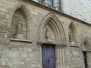"""Portail de l""""église Saint Jacques"""