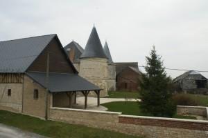 une ferme château