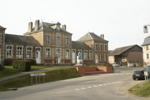L'hôtel de ville de Wasigny