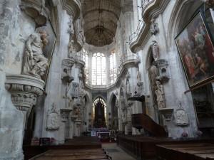 La nef de Sainte Madeleine
