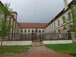 abbaye Saint Leonard de Corbigny presque à l'abandon XVIIIè siècle