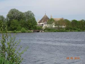 Le lac à la sortie