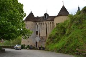 Entrée du château féodal