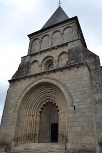 clocher porche avec portail en peron