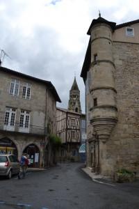 Les rues de Saint Léonard