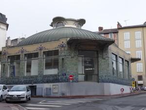 Pavillon du verdurier art nouveau