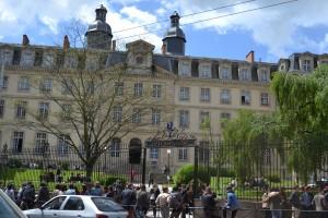 Ancien collège des jésuite savec sa façade XVIIIème