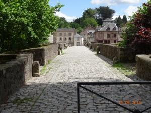 Le pont, voie des pèlerins