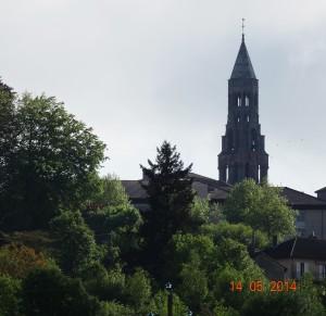Vue sur Saint Leonard
