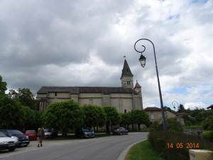 L'église d'Aureil Saint Gaucher fonda un prieuré au XIème siècle actuellement propriété privée